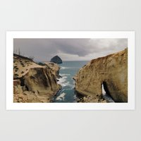 Pacific City, Oregon Art Print