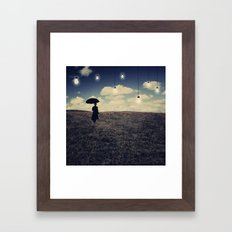 What you don't want to see Framed Art Print