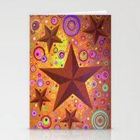 Stars & Circles  Stationery Cards