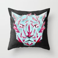 Throw Pillow featuring Thy Fearful Symmetry by Littleclyde