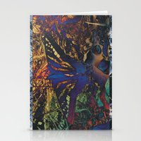 Butterfly Trance Stationery Cards