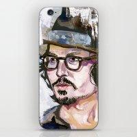 Johnny Depp iPhone & iPod Skin