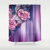 ROSES IMPRESSIONS Shower Curtain