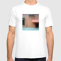 Puttanesc...NYC Mens Fitted Tee White SMALL