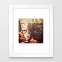 Corpse Distorter  Framed Art Print