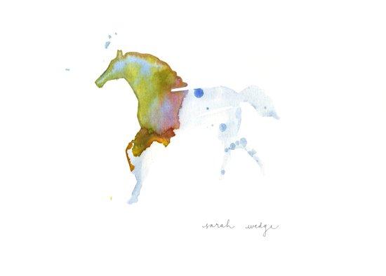 Crystal Horse Art Print