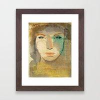 Agata Framed Art Print