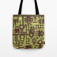 World of robots. Tote Bag
