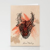 The Beast Stationery Cards