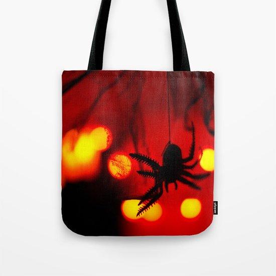 halloween spider Tote Bag