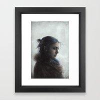 Clem Framed Art Print
