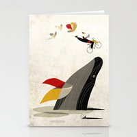 For A Breath, The Butter… Stationery Cards