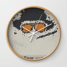 Fear and Loathing in Las Vegas Wall Clock