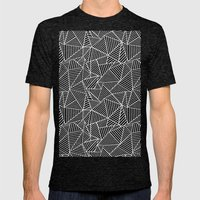 Ab 2 Repeat Mens Fitted Tee Tri-Black SMALL