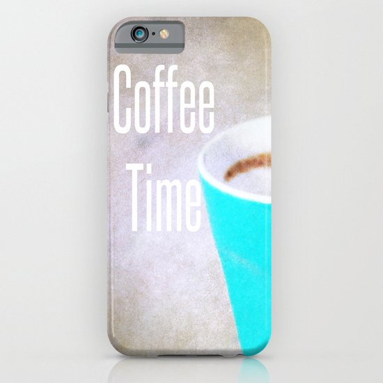 Coffee Time  - JUSTART © iPhone & iPod Case