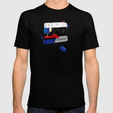 Ma-Singer Mens Fitted Tee Black SMALL