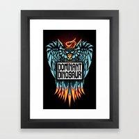 Dominant Owl Framed Art Print