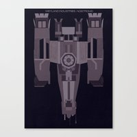 Weyland Industries: Nostromo Canvas Print