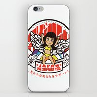 JAPAN.we support you iPhone & iPod Skin