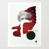 I Dont Belong Here. 2nd … Art Print
