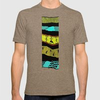 Sideways Mens Fitted Tee Tri-Coffee SMALL