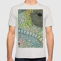 Chameleon Mens Fitted Tee Silver SMALL