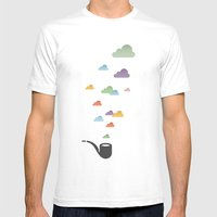Holy Smoke! Mens Fitted Tee White SMALL