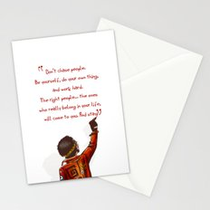 Positive Attitude Stationery Cards
