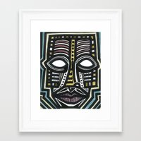 The Energy Within A Thou… Framed Art Print