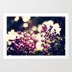 In the Garden 3 Art Print