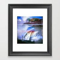 Bow To Rainbow Framed Art Print