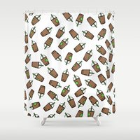 Bev Fresh Pattern Shower Curtain