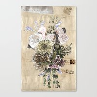 Indelicate Flowers For Y… Canvas Print