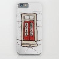 Red Doors  iPhone 6 Slim Case