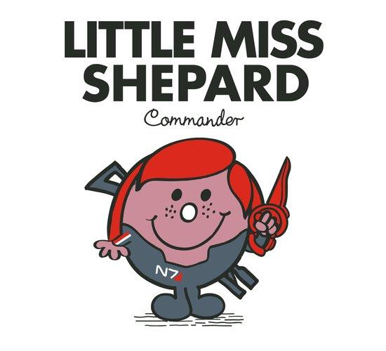 Little Miss Shepard Art Print