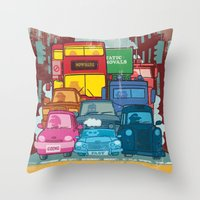 Going Nowhere Fast! Throw Pillow