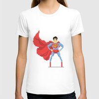 superman T-shirts featuring Superman by Bastonmag