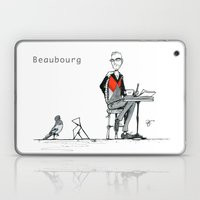 A Few Parisians: Beaubourg by David Cessac Laptop & iPad Skin