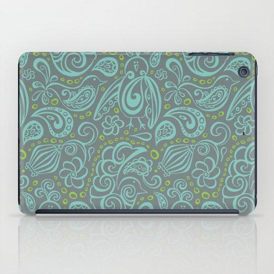 Festooned Feathered Friends iPad Case
