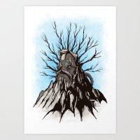 The Wise Mountain Art Print