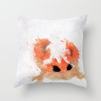 #098 Throw Pillow