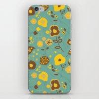Fall Floral iPhone & iPod Skin