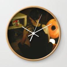 The Girl with the Dragon Tattoo: Lisbeth Salander Wall Clock