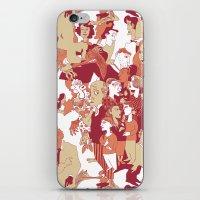 Beware the wolf iPhone & iPod Skin