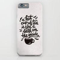 iPhone & iPod Case featuring Hot Tea by WEAREYAWN