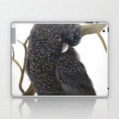 Glossy Black Cockatoo Laptop & iPad Skin