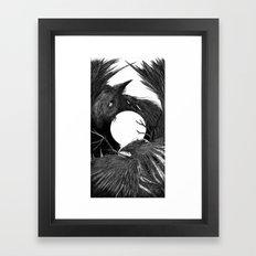 Sunset Of Crow II Framed Art Print
