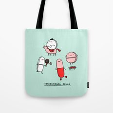 Recreational Drugs Tote Bag