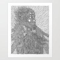 The Orc Art Print