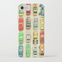 car iPhone & iPod Cases featuring Car Park by Cassia Beck